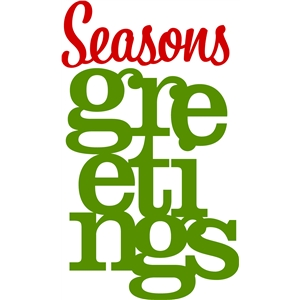 'seasons greetings' phrase