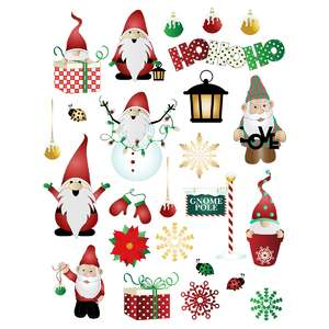 christmas gnome planner stickers