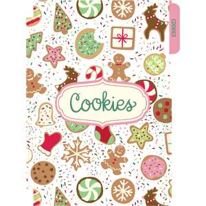 holiday cookbook cookies divider