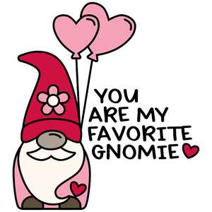 you are my favorite gnomie