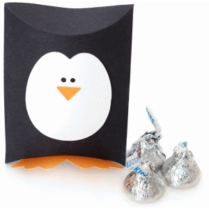 penguin pillow box