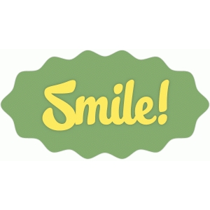 smile! label