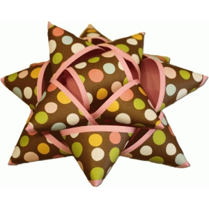 3d gift package bow