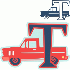 't' is for truck (samantha walker)