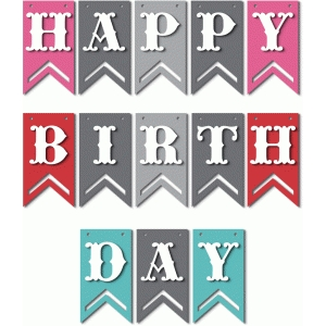 'happy birthday' banner