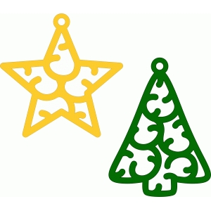 christmas ornaments charms