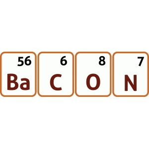 bacon periodic table standard