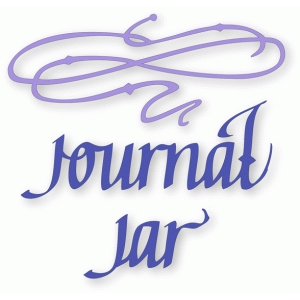 journal jar - flourished