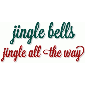jingle bell phrases