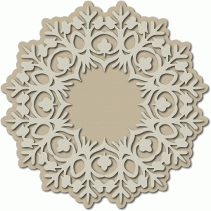 folk art doily