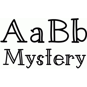 mystery font