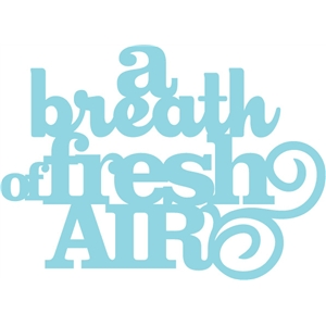 'a breath of fresh air' phrase