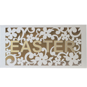 easter flourish card