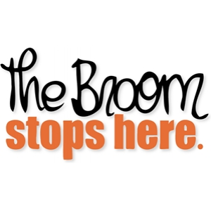 'the broom stops here.'