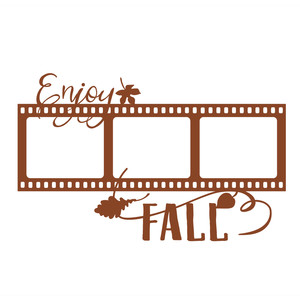 enjoy fall film frame