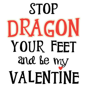 dragon feet valentine
