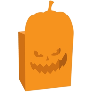 pumpkin halloween candy box