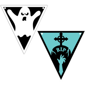 ghost and grave flag