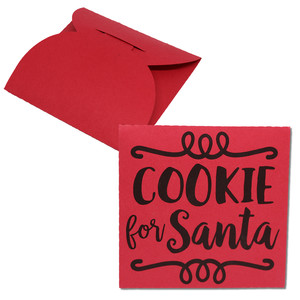 cookie for santa cookie wrap