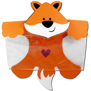 fox snack bag topper