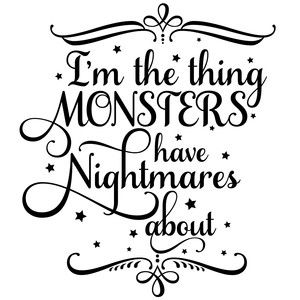 monsters quote