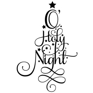 o' holy night word tree