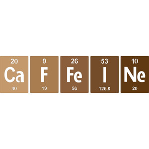 periodic table caffeine