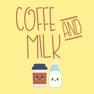 coffe and milk font