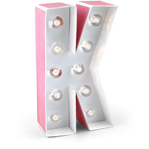 marquee letter k