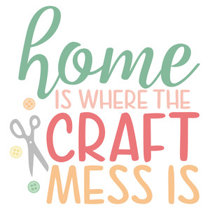 home craft mess