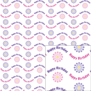 birthday dot pattern