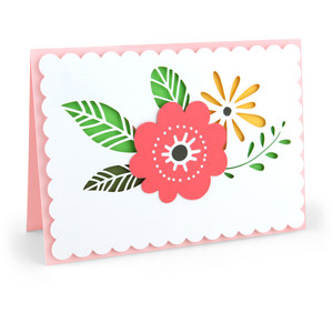 pop dot flower card