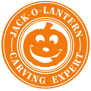 jack o lantern carving expert label