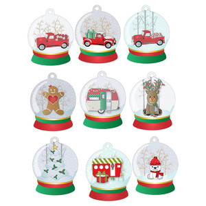 snow globe trucks and more tags