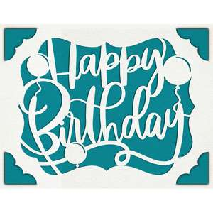 a2 insert card happy birthday day