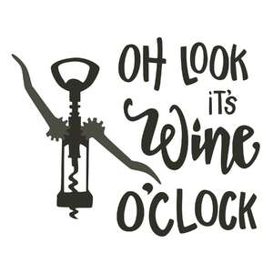 wine o'clock phrase