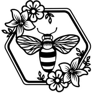 honey bee logo
