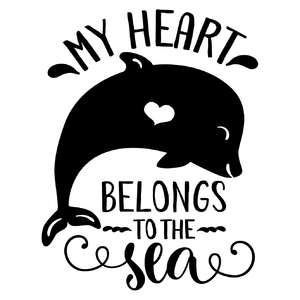 my heart belongs to the sea