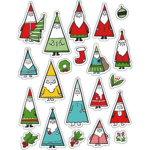 ml santa santa love stickers