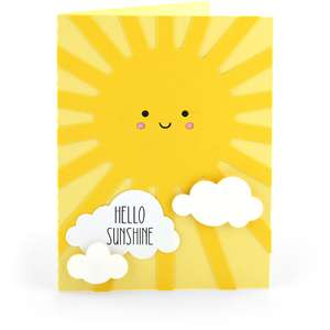 a2 card hello sunshine