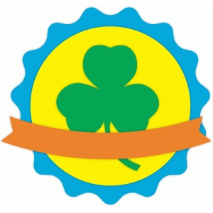 clover badge