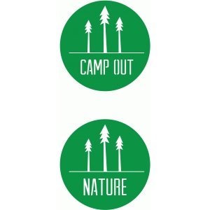camp out/tree nature badge