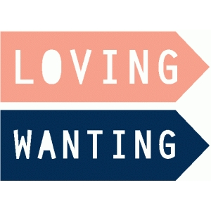 loving & wanting page arrows