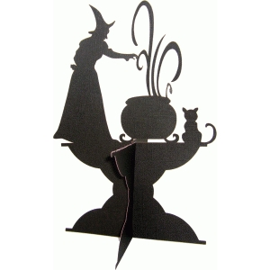 witch stand decor