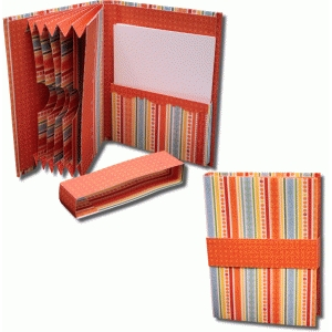 3d accordion organizer book