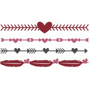 valentine herat arrow borders