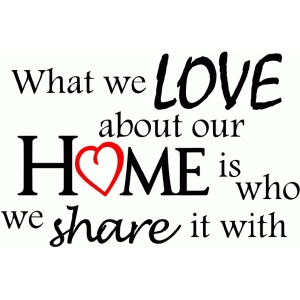 what we love about our home