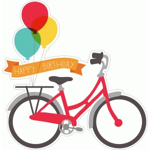 happy birthday bike