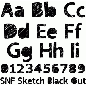 snf sketch black out
