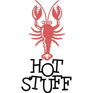 'hot stuff' lobster word set